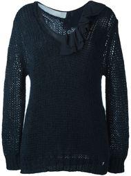 collar ruffled detail blouse Twin-Set
