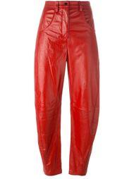 lambskin mum trousers Kenzo