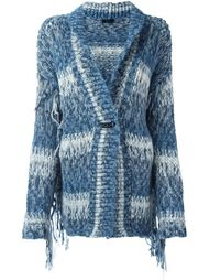 fringed detailed cardigan Twin-Set