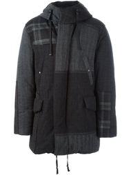 лоскутная дутая куртка Lanvin