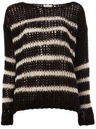 open knit sweater Saint Laurent