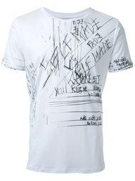 футболка с принтом Fad Three