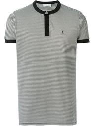 топ в стиле рубашки-поло Saint Laurent