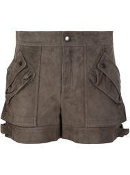 шорты с накладными карманами Helmut Lang