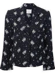 пиджак с цветочным принтом Cinq A Sept