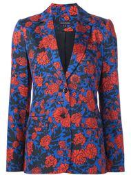 hand painted garden print jacket Sophie Theallet