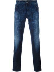 джинсы  с принтом пейсли   Etro