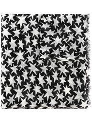 шарф с принтом звезд Saint Laurent