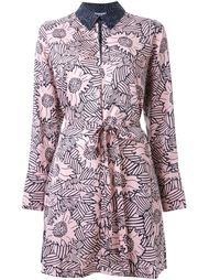 платье-рубашка с цветочным принтом  Sonia By Sonia Rykiel