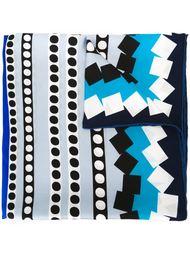 платок с узором Diane Von Furstenberg