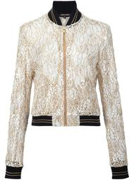 Guipure lace bomber jacket Sophie Theallet