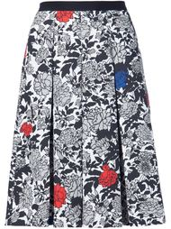 garden print pleated skirt Sophie Theallet