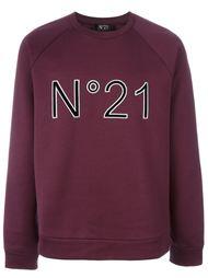 logo print sweatshirt Nº21