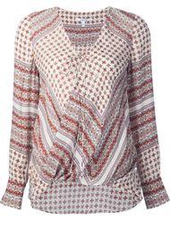 блузка с цветочным узором Derek Lam 10 Crosby