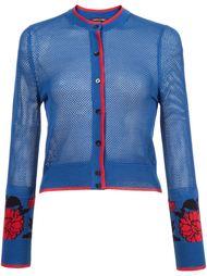 garden jacquard mesh cardigan Sophie Theallet