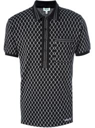 рубашка поло с геометрическим рисунком Kenzo