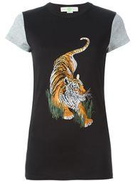футболка с принтом тигра  Stella McCartney