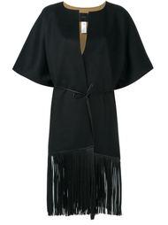 пальто с бахромой Agnona