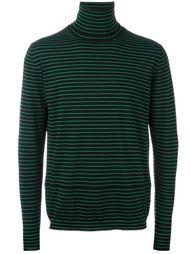 свитер-водолазка в полоску  Lanvin