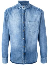 stonewashed denim shirt Brunello Cucinelli