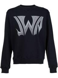 logo print sweatshirt J.W. Anderson