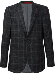 checked Donegal blazer Isaia