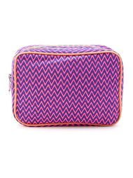 zig zag pattern make-up bag Sub