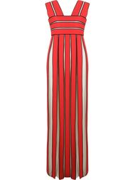 panelled long dress Reinaldo Lourenço