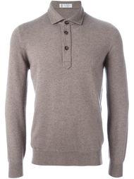 свитер на пуговицах  Brunello Cucinelli