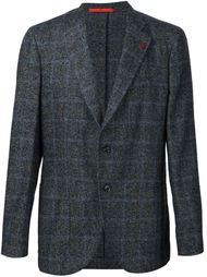 checked blazer Isaia