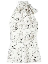 floral print blouse Egrey