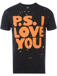 футболка 'P.S. I Love You'  Paul Smith