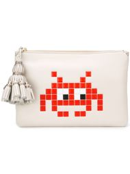 клатч 'Space Invaders' Anya Hindmarch
