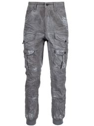 брюки карго с потертой отделкой Prps