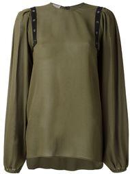 блузка с отделкой Giamba