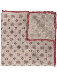 multi-pattern pocket square Brunello Cucinelli