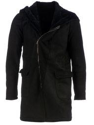 пальто с капюшоном Giorgio Brato