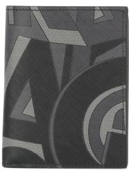 кошелек с геометрическим узором  Salvatore Ferragamo