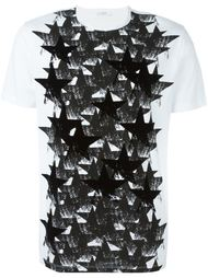 футболка с принтом звезд  Versace
