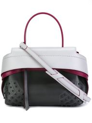 сумка через плечо в стиле колор-блок  Tod's