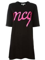 платье-футболка с логотипом McQ Alexander McQueen