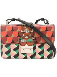 сумка на плечо со смешанным принтом  Red Valentino