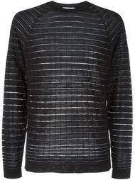 свитер в полоску  Versace Collection