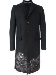 пальто с принтом обезьян Givenchy