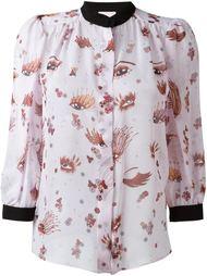 блузка с узором Giamba