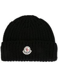вязаная шапка-бини  Moncler