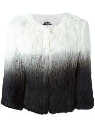 меховая куртка с тонально-градиентным эффектом Yves Salomon