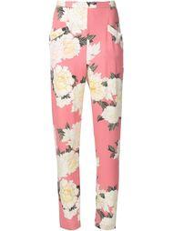 пижамные брюки с цветочным принтом Fleur Du Mal