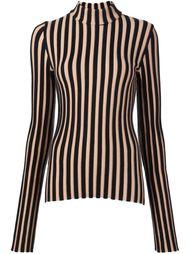 полосатый свитер в рубчик Edun