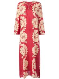 long floral print kaftan dress Sophie Theallet